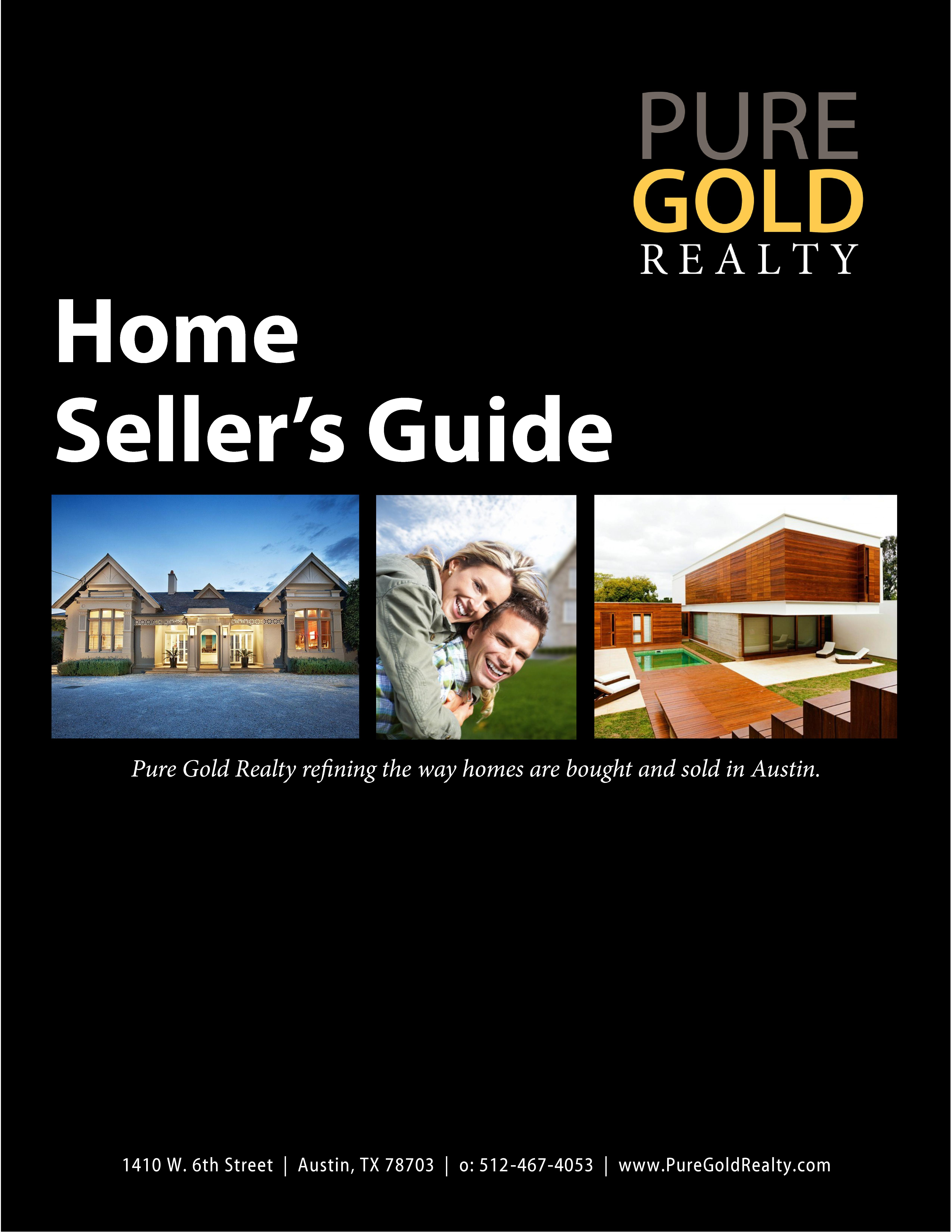 Pure Gold Realty Home Seller's Guide