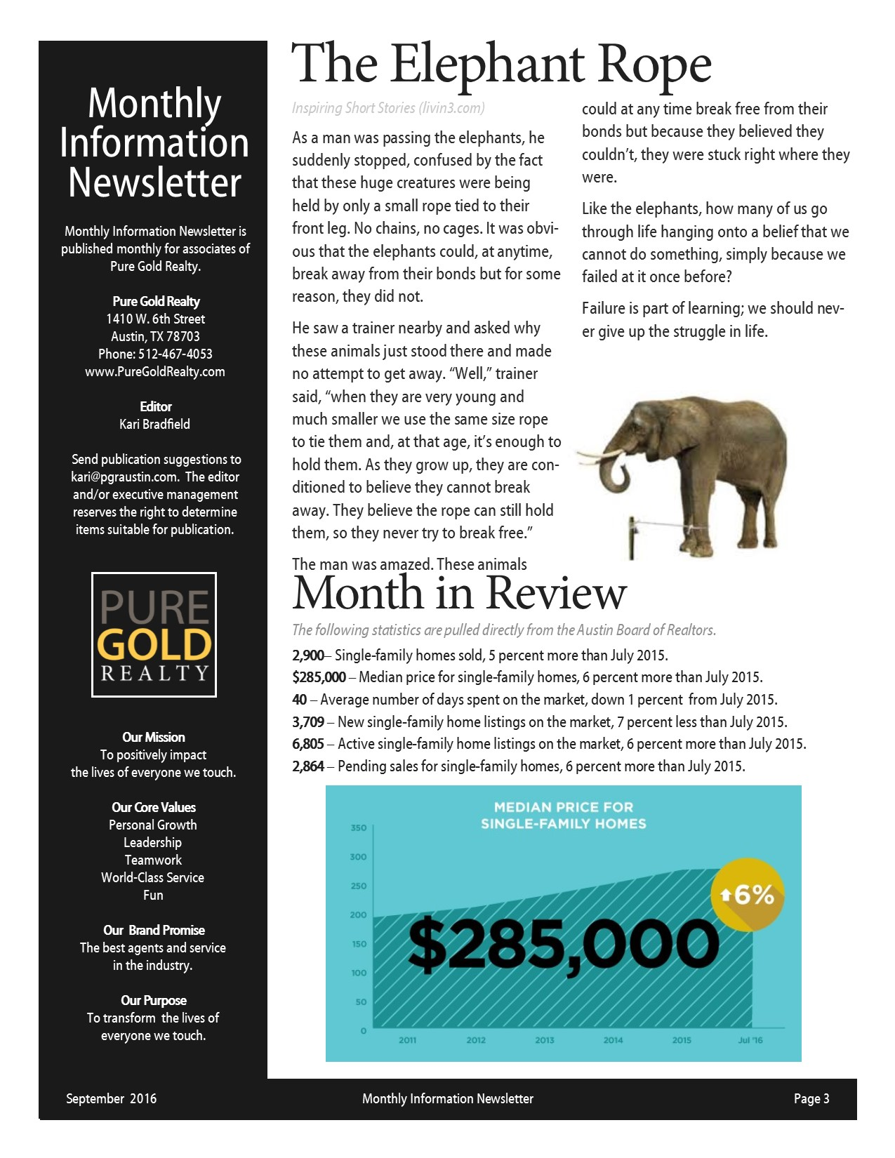 September 2016 Newsletter Page 3