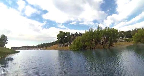 Folsom Lake in Folsom CA