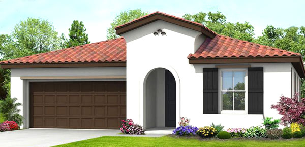 D R Horton Home in Parkview Rocklin