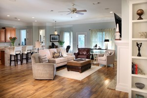Elliott Homes - The Allen Open Floor Plan