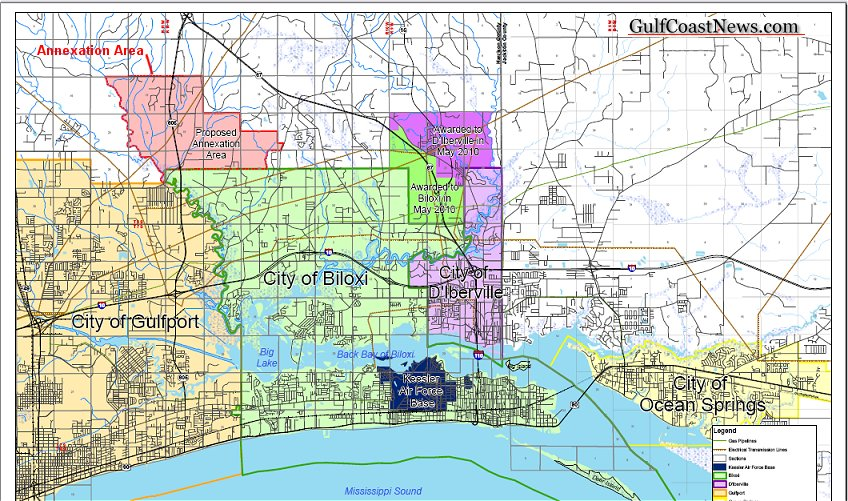 Biloxi and Gulfport End Annexation Dispute