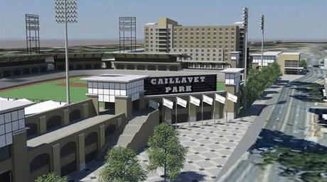 Biloxi Baseball Caillavet Park Beau Rivage
