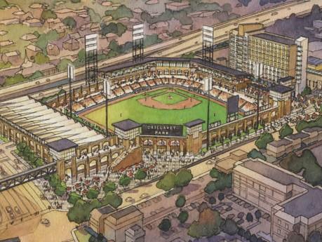 Biloxi Baseball Stadium Caillavet Park