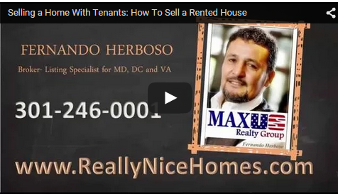 Selling homes with renters inside