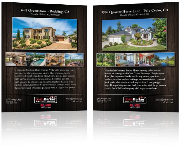 Josh Barker Real Estate Advisors Professional Advertisements