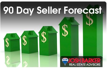 90 day Seller Forecast - Josh Barker Real Estate Advisors
