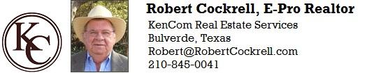 Bulverde Realtor Robert Cockrell
