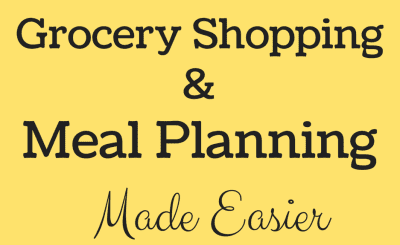 Grocery Shopping & Meal Planning Made Easier