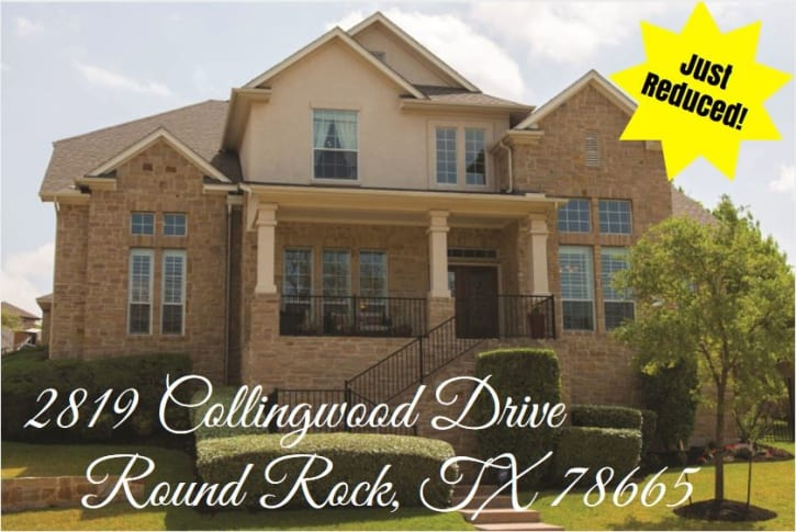 2819 Collingwood Price Reduction Graphic