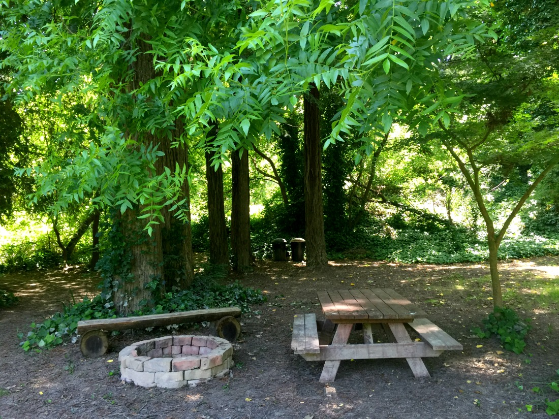 Picnic Table at Guerneville Lodge