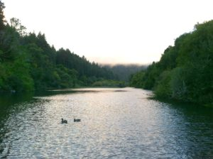 Sun Set Over Monte Rio Russian River Photo