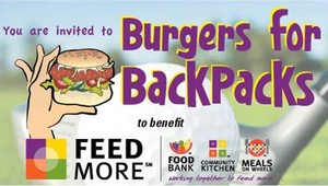 Burgers for BackPacks in Richmond VA