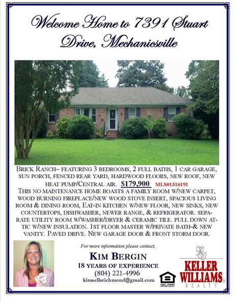 Mechanicsville Home for Sale