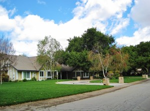 Ranch style home in Placerita Canyon