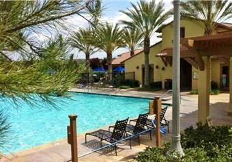 West Creek Club swimming pool
