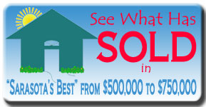See the latest luxury home sales in the Sarasota real estate market from $500,000 and $750,000