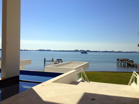 View from 1452 Hillview in Harbor Acres, Sarasota, FL