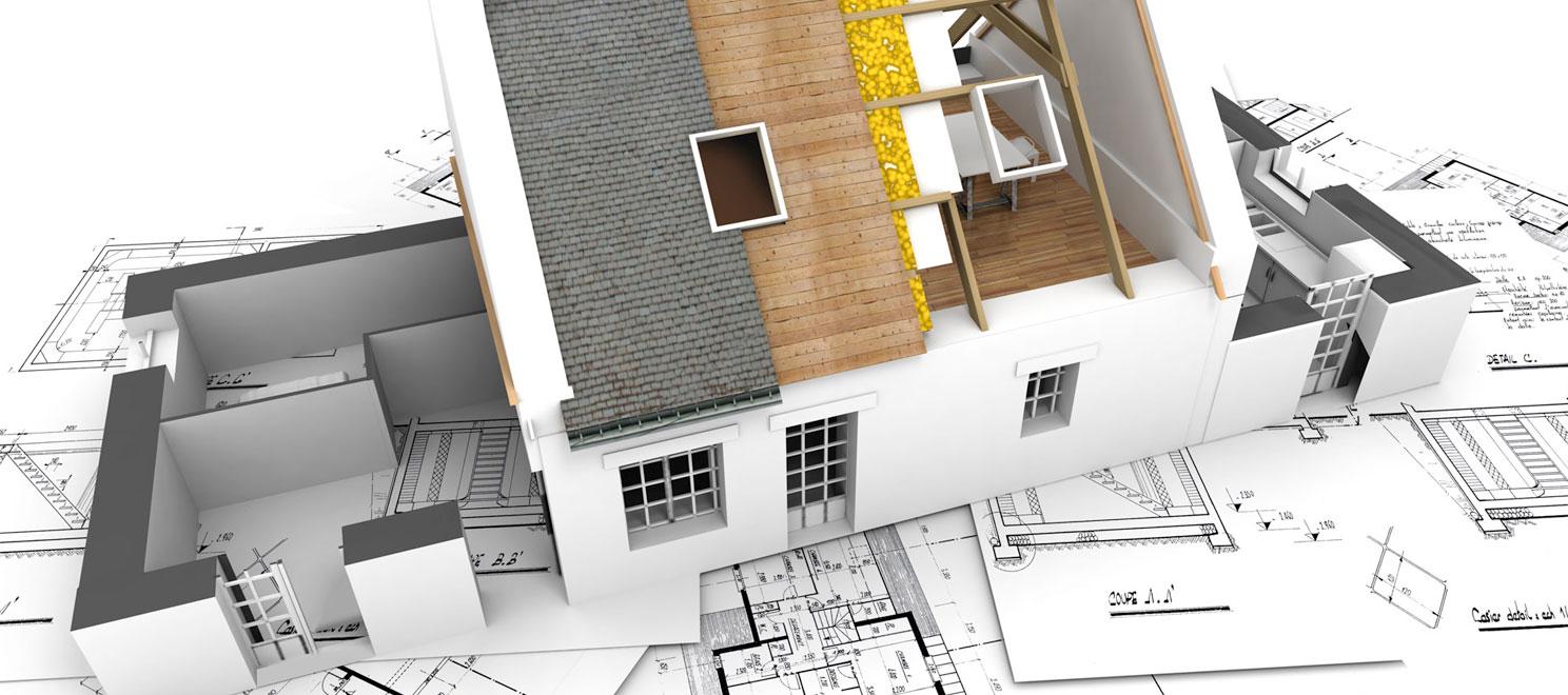 Фото строительства дома чертежи