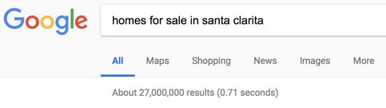 Santa Clarita home search