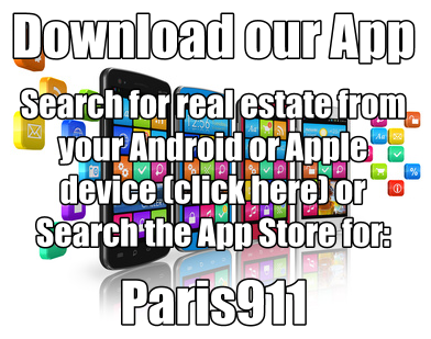 Searching for real estate with our downloaded app