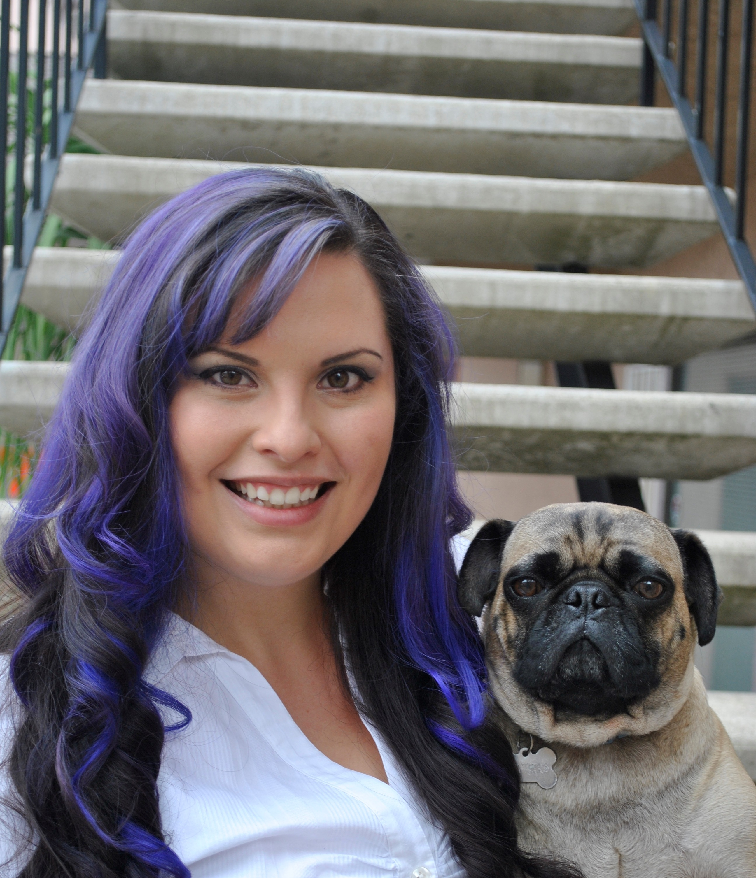 San Diego Real Estate Agent and pug