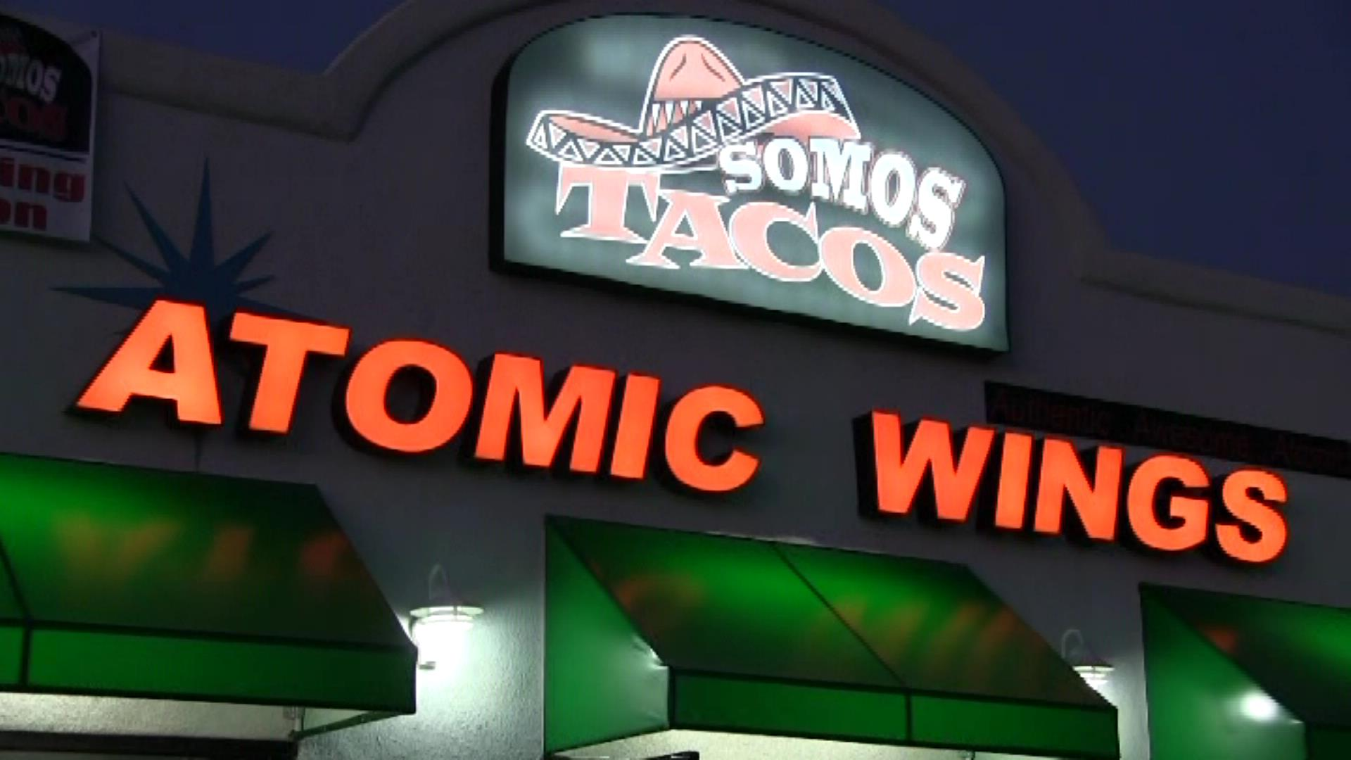 Somos tacos and atomic wings, spring Valley, ca 91977