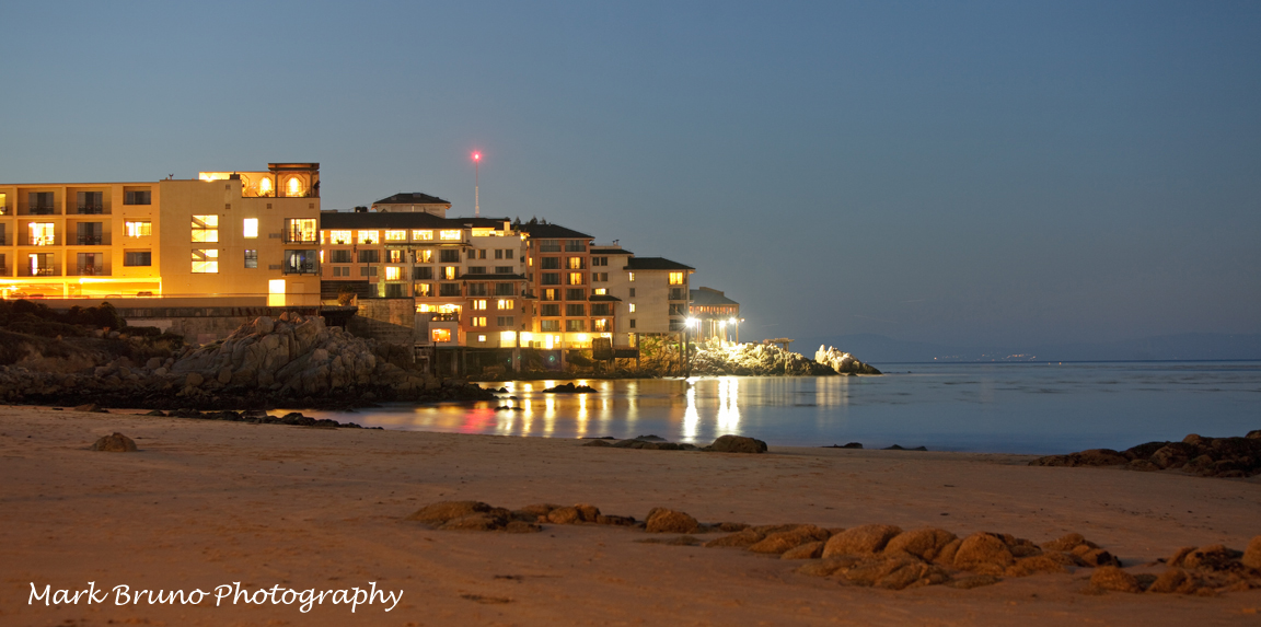 Monterey Plaza Hotel from San Carlos Beach