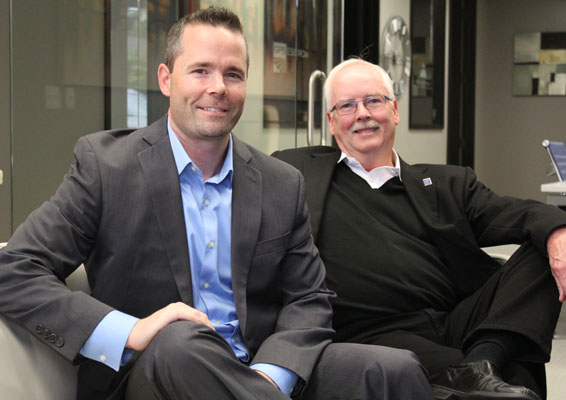 Seattle real estate brokers Sam DeBord and Brian Wiegand