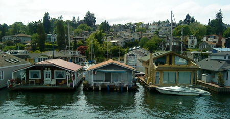 Seattle houseboats and floating homes - Floating house seattle ...