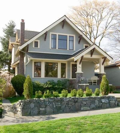 Seattle craftsman homes for Styles of homes with pictures