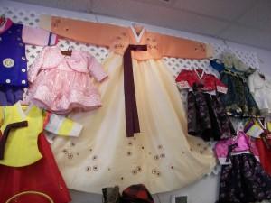 Korean silk dresses