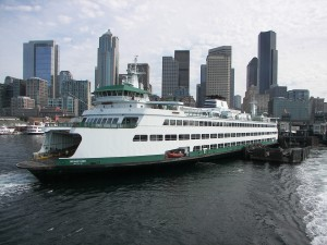 The Wenatchee Departing Seattle