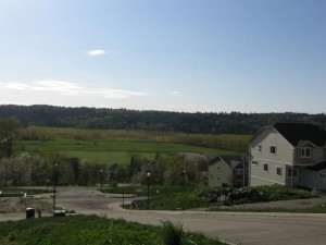 View from Harbour Homes New Construction Plat in Duvall - Cherry Hill Vista