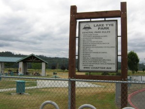 Lake Tye Park Rules