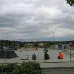 Skateboarder Area of Lake Tye