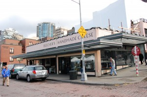 Pike's Place Market is Beecher's Handmade Cheese location