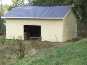 4 Stall Barn with Metal Roof