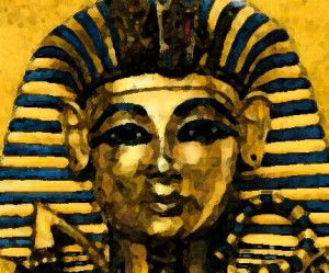 King Tut face image