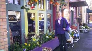 Maryellen Swanson at Bizarro Italian Cafe in Wallingfore
