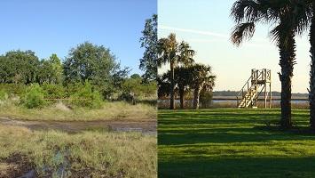 waterfront land improvements
