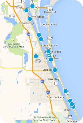 Brevard County Real Estate Map