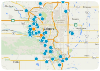 NextBigMoveCalgary Map Search