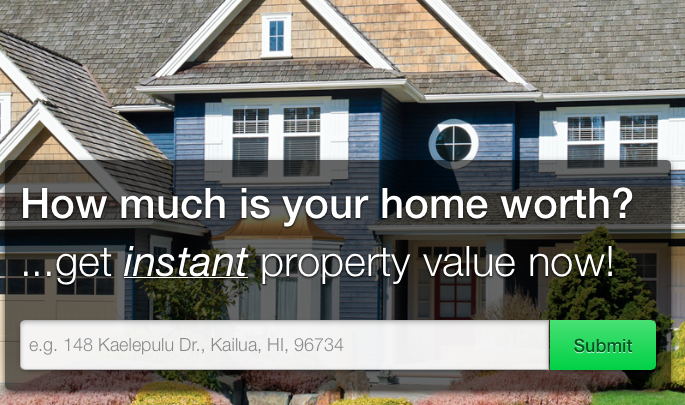 What is the value of my home?  Find my homes value onlne
