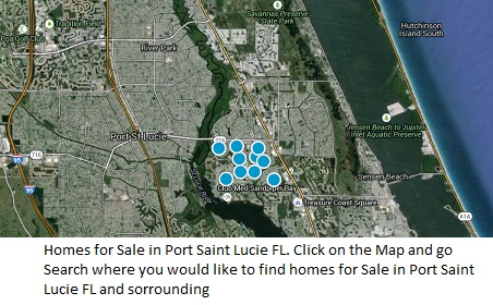 Homes for sale search port saint lucie Map Search