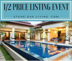 50% OFF Select Listings for a limited time. Sell your home in North San Antonio for half the usual listing fee, with all the perks included, during this special event. For more information contact...