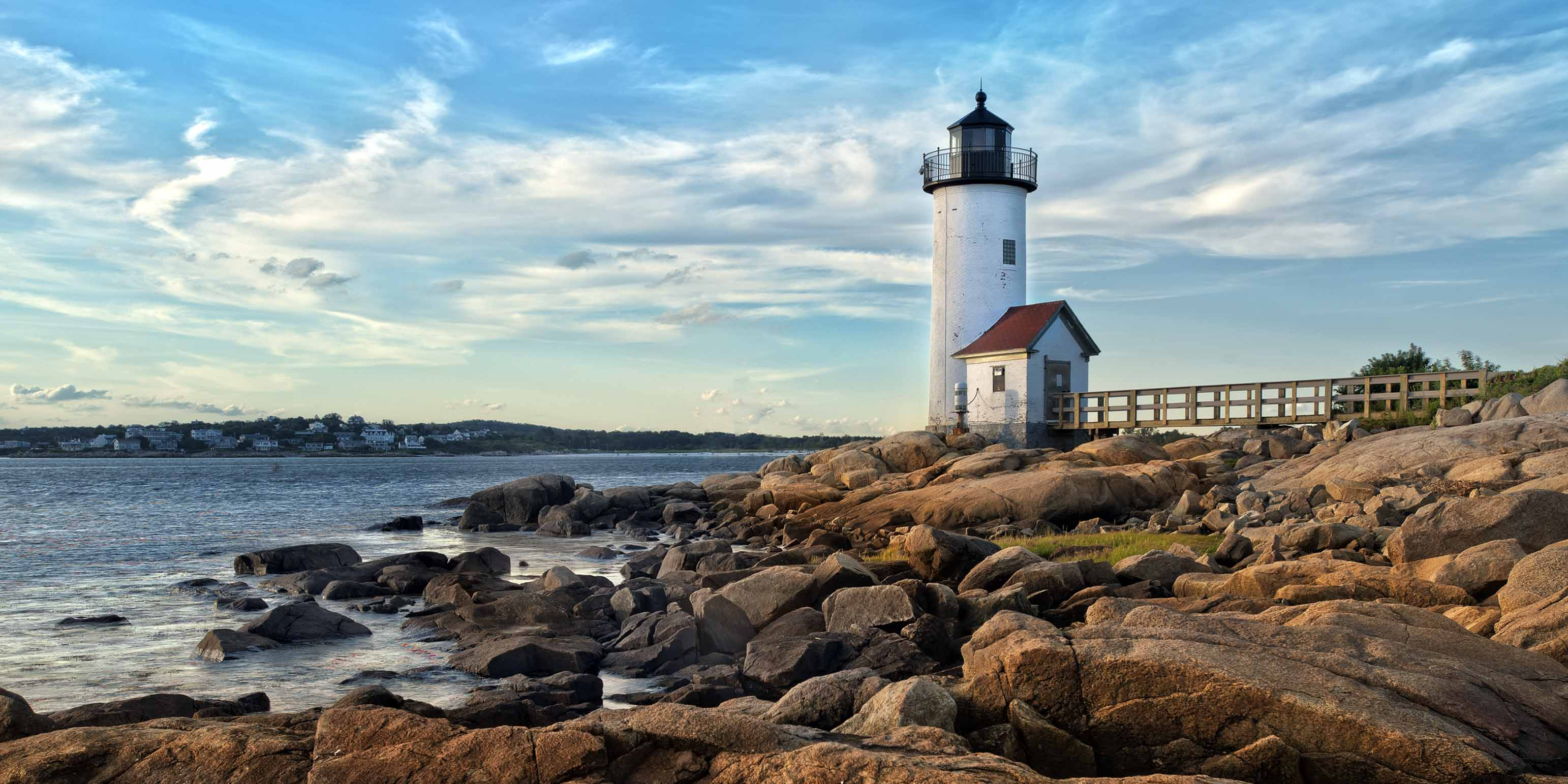 Lighthouse in Gloucester Ma