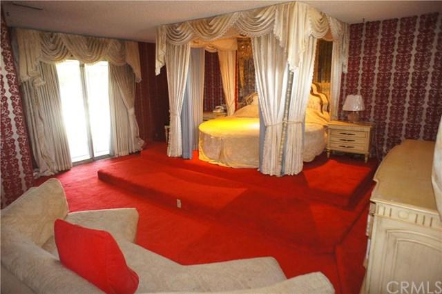 Tina Turner's master bedroom