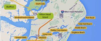 Hilton Head Map