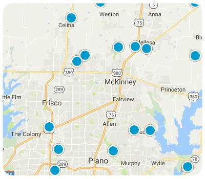 Map Search Of McKinney Tx